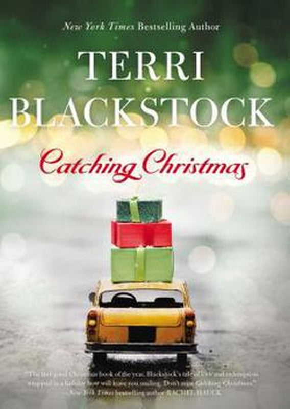 Catching Christmas Clean Romance Novel Book by Terry Terri Blackstock Hardcover