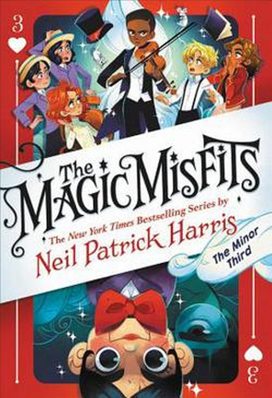 The Magic Misfits Series 3 The Minor Third 3rd by Neil Patrick Harris Hardcover