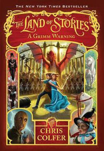 The Land of Stories Series Book 3 A Grimm Warning by Chris Colfer Paperback PB