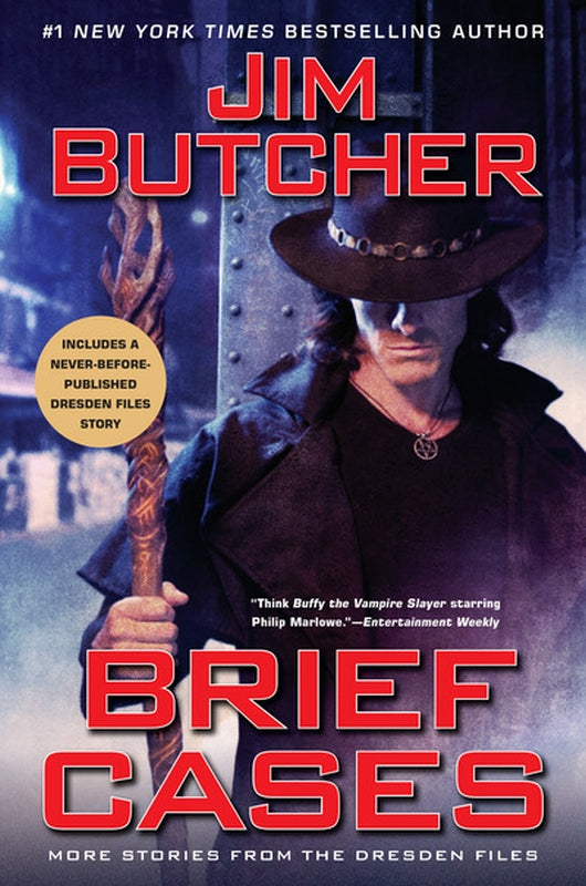 Brief Cases The Dresden Files Series Short Stories by Jim Butcher Hardcover