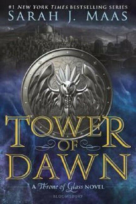Tower of Dawn by Sarah J. Maas Throne of Glass Series Book 6 (2018, Paperback)