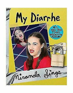 My Diarrhe Diary by Miranda Sings Book Colleen Ballinger YouTube Hardcover NEW