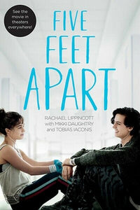 5 Five Feet Apart Book by Rachel Rachael Lippincott Hardcover Hardback Novel