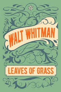 Leaves of Grass Deathbed Edition by Walt Whitman Poetry Poems Book Hardcover