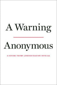 A Warning by Anonymous President Donald Trump Book Hardcover Hardback