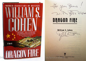 Dragon Fire by Bill William S Cohen US Secretary of Defense Signed Autographed
