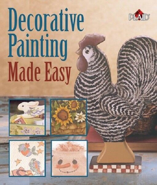 Decorative Painting Made Easy by Plaid Making Folk Art Craft Instructional Book