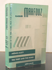 Nagub Mahfouz Midaq Alley The Thief and the Dogs Miramar Paperback Book Novels