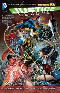 Justice League Volume 3 The Throne of Atlantis DC Comics Graphic Novel Hardcover