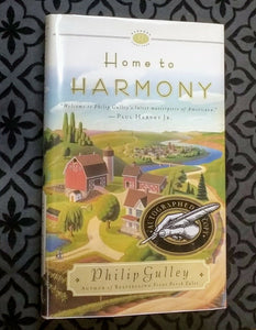 Home to Harmony Series by Philip Gulley SIGNED Book 1st Edition First Hardcover