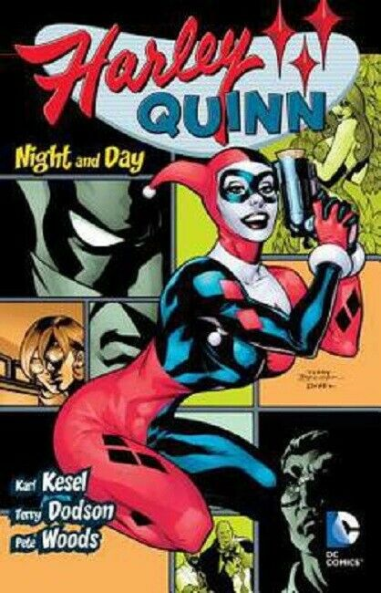 Harley Quinn 2000-2004 Omnibus Graphic Novel Comic Book Volume 2 Night and Day