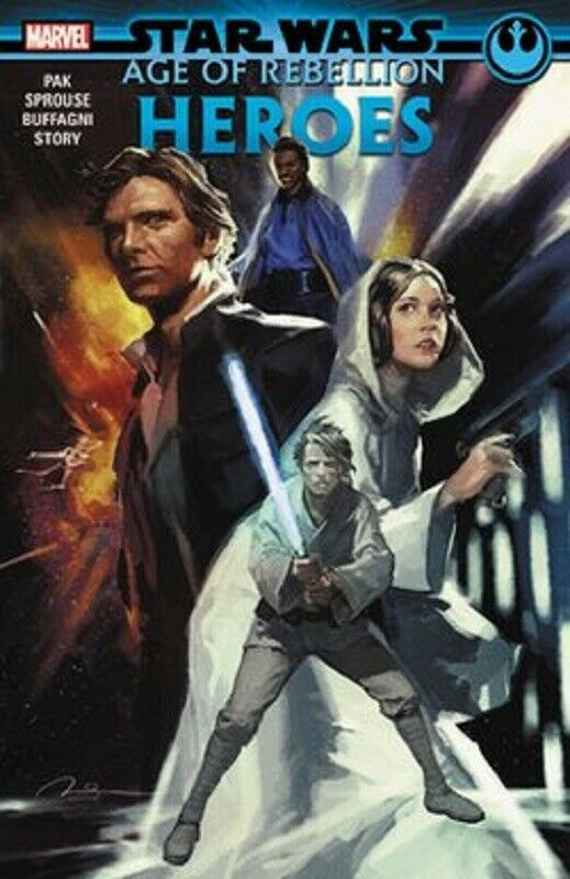 Star Wars: Age of the Rebellion Series Book 1 Heroes Comic Book Graphic Novel