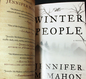 The Winter People by Jennifer McMahon ARC Advance Readers Copy Book 1st Edition