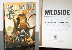 Wildside by Steven Gould SIGNED Book Autograph First Thus Edition 1st Paperback