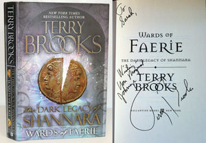 Wards of Faerie Fairy by Terry Brooks Book Hardcover SIGNED 1st Edition First