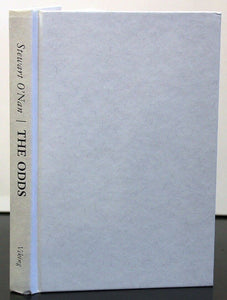 The Odds A Love Story by Stewart O'Nan Hardcover SIGNED First Edition 1st Book