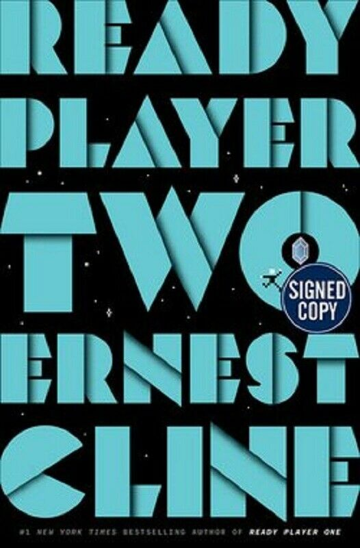 Ready Player Two 2 By Ernest Cline Signed Book First Edition 1st 1st P Inkspiration Books