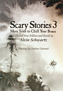 Scary Stories To Tell In the Dark Treasury Bk Set 1 2 3 Original Alvin Schwartz