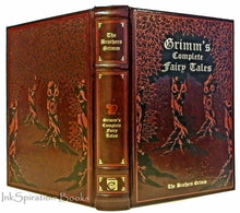 Load image into Gallery viewer, The Brothers Grimm Complete Fairy Tales Collection Leather Bound Stories Classic
