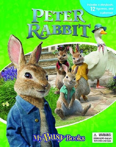 Peter Rabbit My Busy Books Storybook and Figures Kids Childrens Story Book