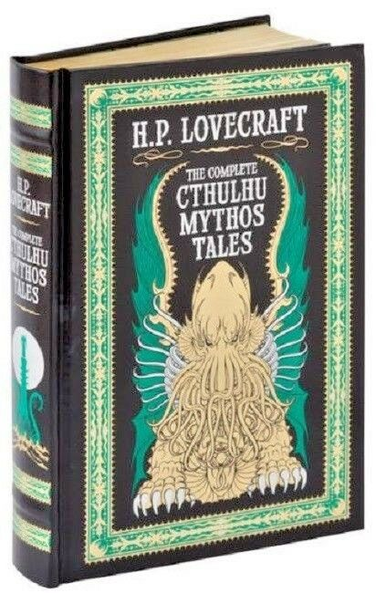 HP Lovecraft H.P. Complete Cthulhu Mythos Tales Short Stories Book Leather Bound