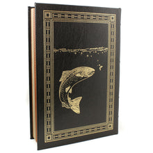 Load image into Gallery viewer, Nymph Fly Fishing For Larger Trout by Charles Brooks Easton Press Leather Book