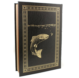 Nymph Fly Fishing For Larger Trout by Charles Brooks Easton Press Leather Book