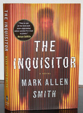 Load image into Gallery viewer, The Inquisitor Novel by Mark Allen Smith SIGNED First Edition 1st Print Hardback