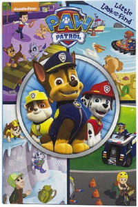Nickelodeon Paw Patrol Little Look and Find Activity Book Search Seek and Find