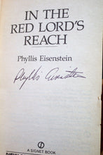 Load image into Gallery viewer, In the Red Lords Reach Tales of Alaric the Minstrel by Phyllis Eisenstein SIGNED