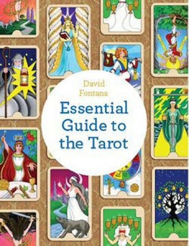 The Essential Guide to the Tarot Major Minor Arcana Book by David Fontana