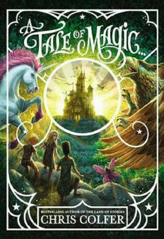 A Tale of Magic Series 1 by Chris Colfer Hardcover The Land of Stories Prequel