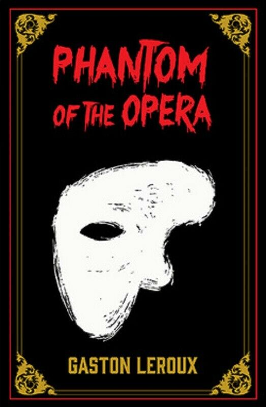 The Phantom of the Opera Faux Leather Bound Book by Gaston Leroux Deluxe Edition