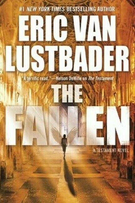 The Fallen The Testament Series Book 2 by Eric Van Lustbader Novel Hardcover