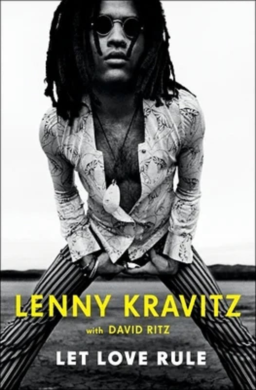 Let Love Rule by Lenny Kravitz Book Rock Music Autobiography Memoir NEW