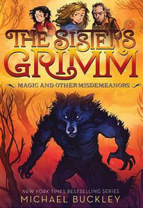 The Sisters Grimm Series Book 5 Magic and Other Misdemeanors by Michael Buckley