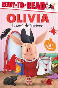 OLIVIA Loves Halloween Learning Ready To Read Book by Maggie Testa Hardcover