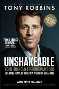 Unshakable Unshakeable by Tony Robbins Book Money Management Financial Freedom