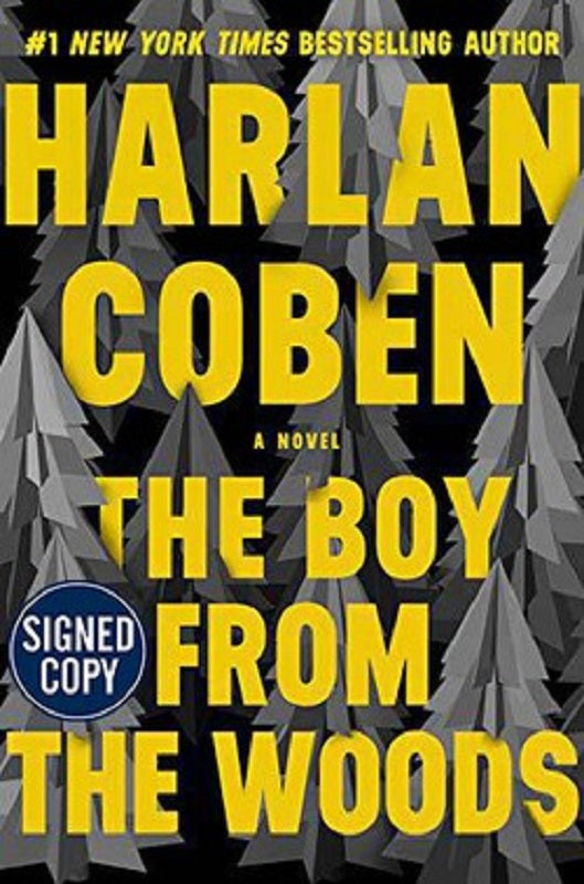 The Boy From the Woods by Harlan Coben SIGNED Book First Edition 1st 1st/1st