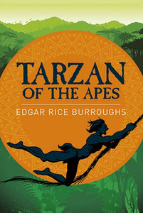 Tarzan of the Apes by Edgar Rice Burroughs Paperback Classic Lit Novel Book