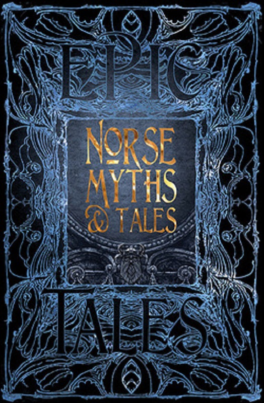Viking Norse Myths and Tales Story Mythology Collection Book God Gothic Fantasy