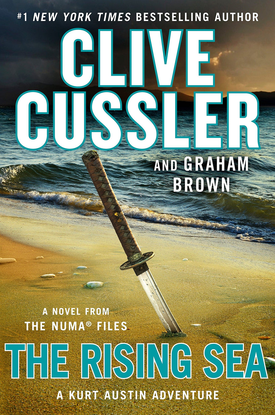 The Rising Sea The NUMA Files Series Book 15 by Clive Cussler Hardcover Hardback