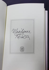Jack by Marilyn Marilynne Robinson SIGNED First Edition 1st Book Gilead Series