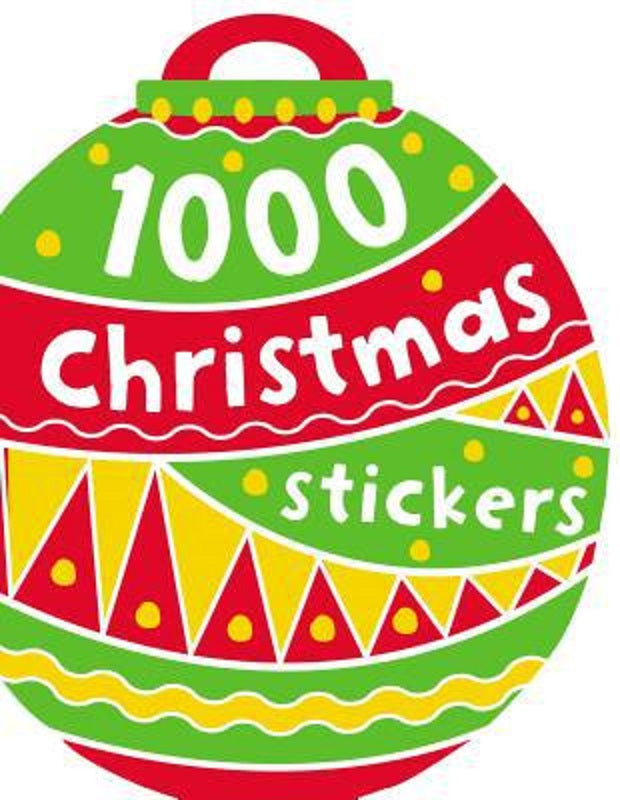1000 Childrens Kids Christmas XMAS Stickers Book by Make Believe Ideas