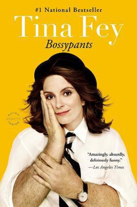 Bossypants Bossy Pants by Tina Fey Biography Autobiography Book Trade Paperback