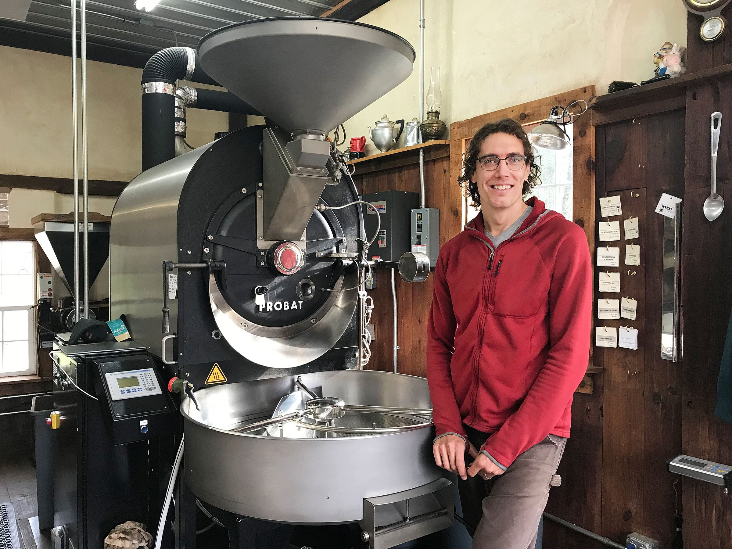 Trevor Talks Coffee Roasting