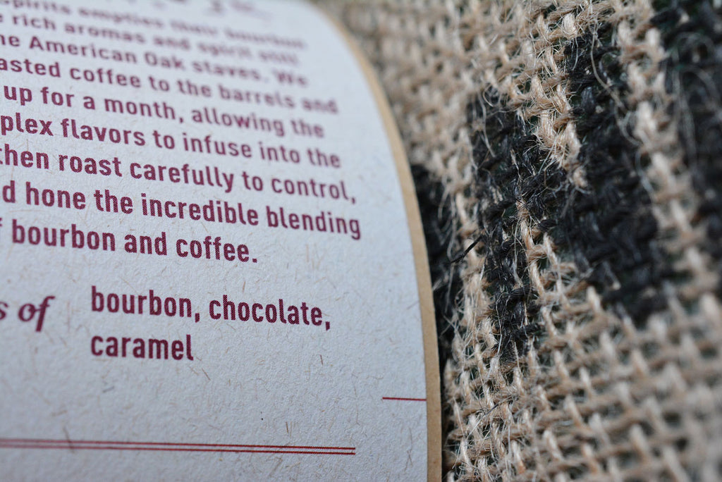 recycled biodegradable coffee label
