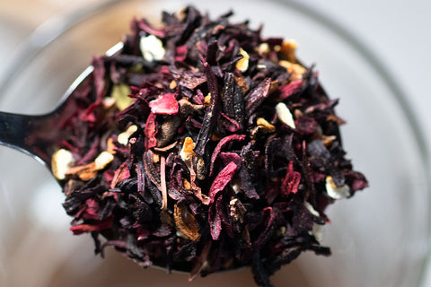 Petals Fireside Nightcap loose leaf tea - by Homestead Coffee Roasters