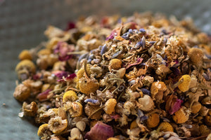 Organic Chamomile Lavender Rose Loose Leaf Tea