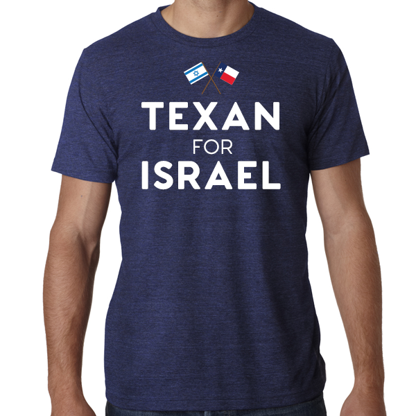 Texan for Israel T-shirt